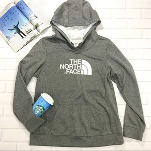 North face hoodie sweater pullover jacket grey